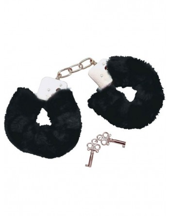 HANDCUFFS WITH FUR IN STEEL